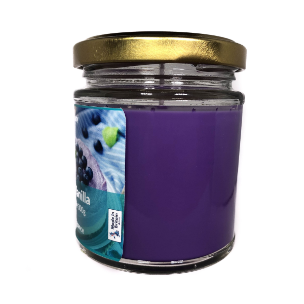 Blueberry Vanilla Scented Candle From The Penseth Company 2