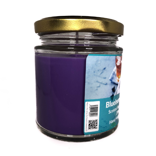 Blueberry Vanilla Scented Candle From The Penseth Company 3