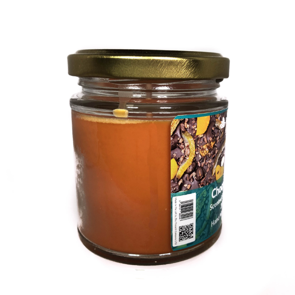 Chocolate Orange Scented Candle From The Penseth Company 2