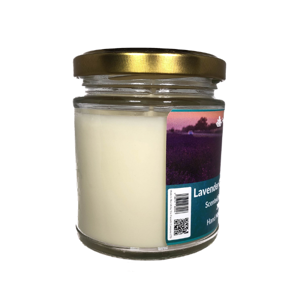 Lavender Chamomile Vanille Scented Candle From The Penseth Company3