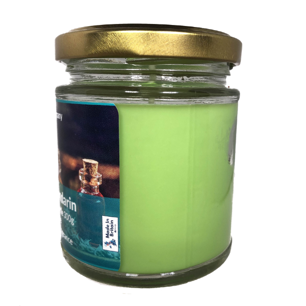 Lime Basil Mandarin Scented Candle From The Penseth Company 1