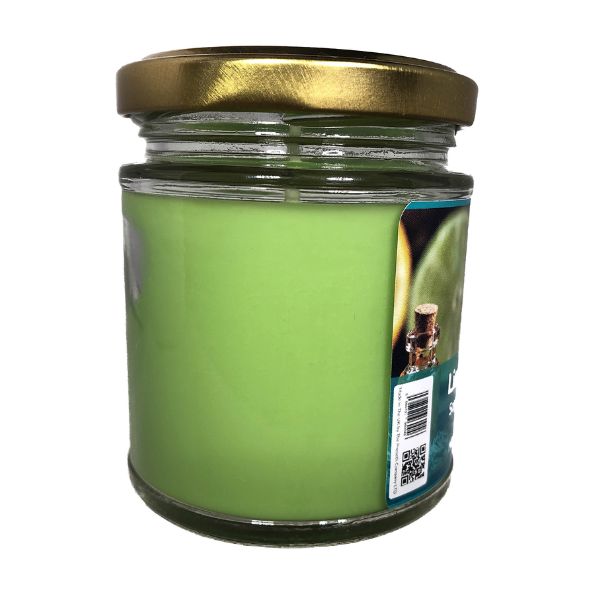 Lime Basil Mandarin Scented Candle From The Penseth Company 2