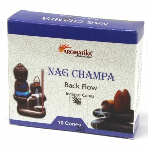 Nag Champa Back Flow Incense Cones From £2.99 At The Penseth Company 1