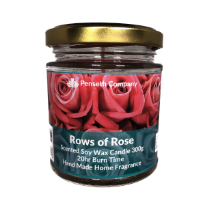 Rows Of Rose Penseth Candle