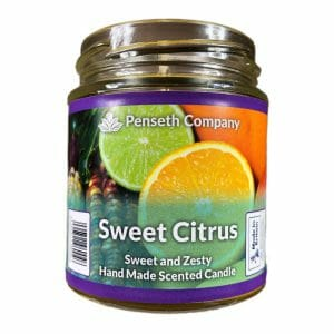 sweet citrus scented candle from penseth company.jpg