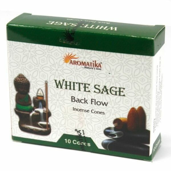 White Sage Back Flow Incense Cones From £2.99 At The Penseth Company 1